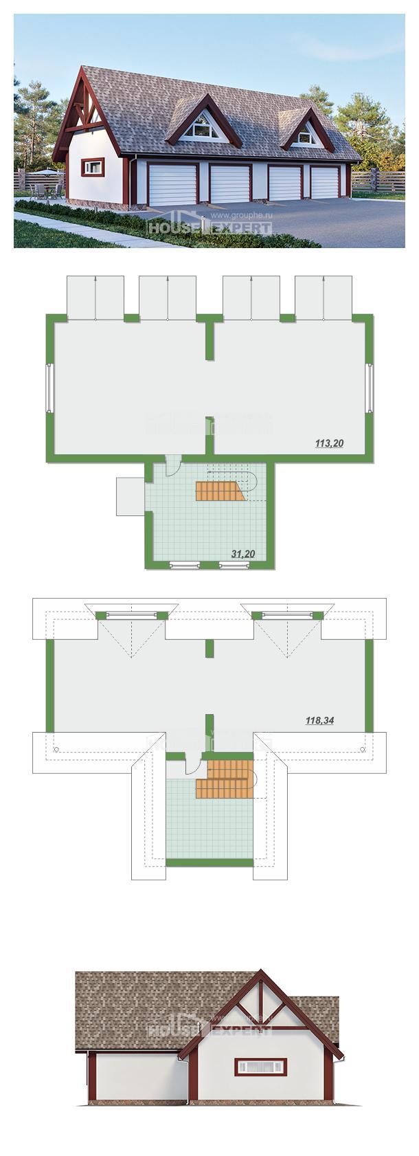 Проект дома 145-002-Л | House Expert